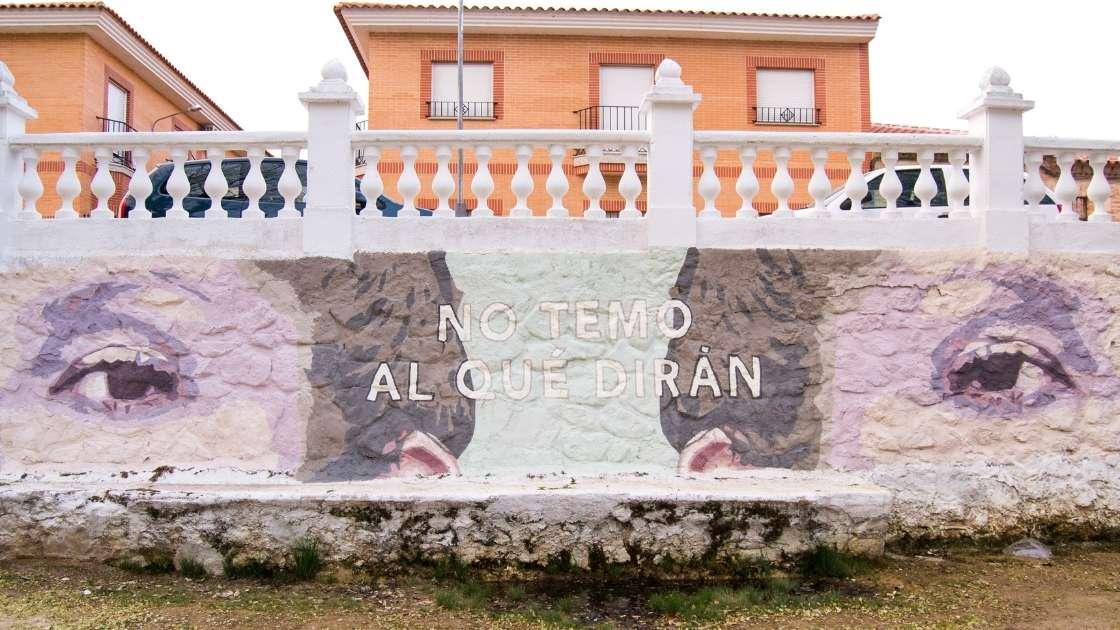 No temo al qué dirán: murales en La Solana