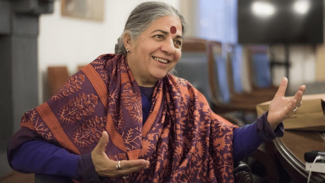 ¿Quién es y qué hace Vandana Shiva?